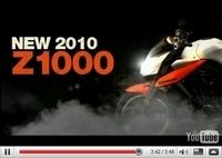 Vidéo Moto : Kawasaki Z1000 2010, ce qui change...