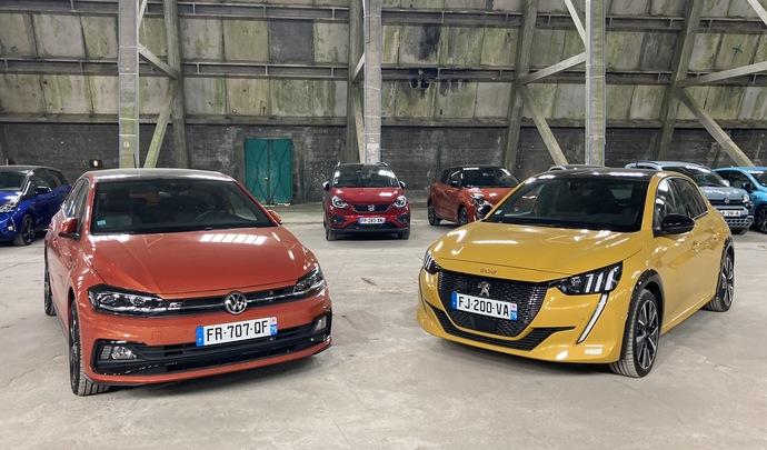 Comparatif Peugeot 208 VS Volkswagen Polo : modernité contre classicisme - Salon de l'auto Caradisiac 2020