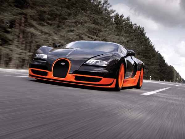 Bugatti Veyron 16.4 Super Sport - Les 27 photos officielles du record