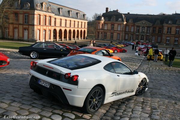 Photos du jour : Sortie Ferrari