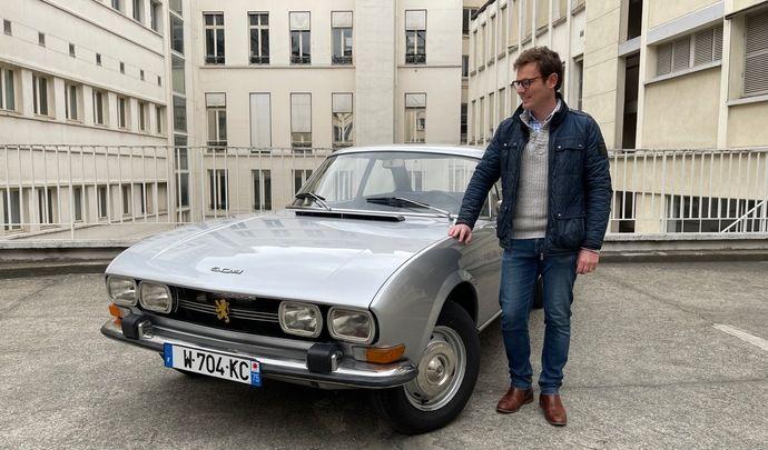 Peugeot 504 «retrofitée»: reportage vidéo