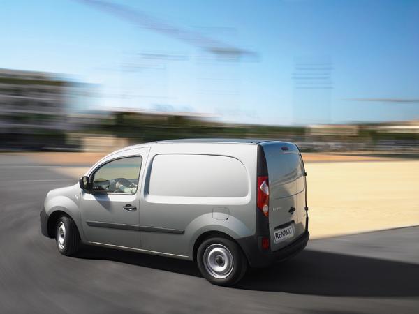 Le Renault Kangoo soigne son niveau de C02