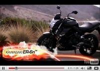 Vidéo Moto : la vision Sport de la Kawasaki Er-6n 2010