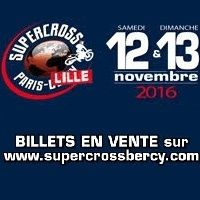 Supercross Paris - Lille 2016 : la billetterie est ouverte