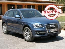 L'Audi Q5 au rappel : airbags latéraux facétieux…