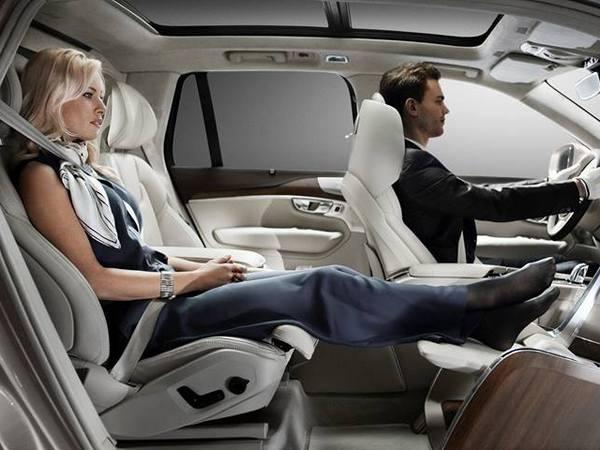 Shanghai 2015 : Volvo XC90 Excellence Lounge Console concept, la console de luxe