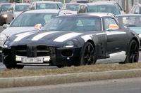 "Future Mercedes AMG Gulwing/SLR: ""silhouette caractéristique"""
