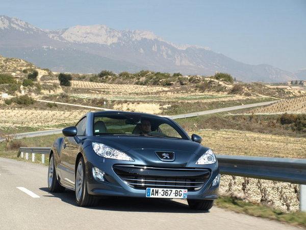 Le Peugeot RCZ ne sera pas remplacé
