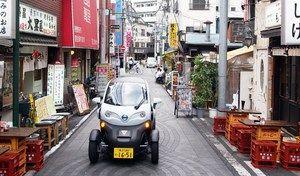 Nissan se lance dans l'autopartage au Japon...avec des Renault Twizy