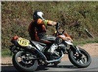Gilles Salvador à l'assaut du Dark Dog Tour 2009 en catégorie mono...