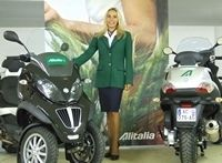 Alitalia France roule en Piaggio MP3