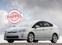 Rappel de la Toyota Prius 3 : précisions sur les modèles français concernés.