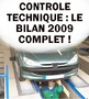 EXCLUSIF ! Contrôle technique 2009 : tous les résultats, 530 voitures classées, dont la vôtre !