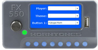 Nouveauté: le klaxon MP3