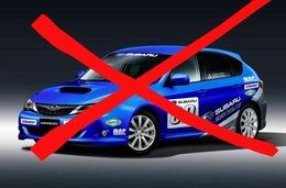 Annulation de la Subaru Boxer Diesel Cup