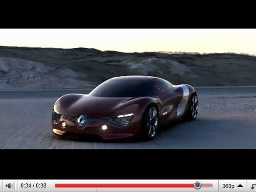 Renault DeZir : premières vidéos