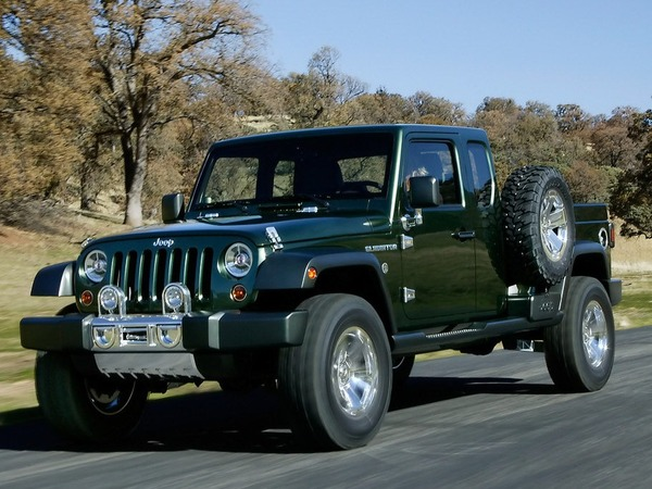 Jeep : un pick-up en 2015 ?