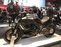 En direct du salon de Milan 2011 : Ducati Diavel Cromo
