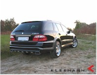 Mercedes E50KCC, la vision du break par Kleeman
