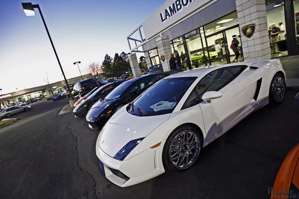 Inauguration de la concession Lamborghini à Denver (29 photos)