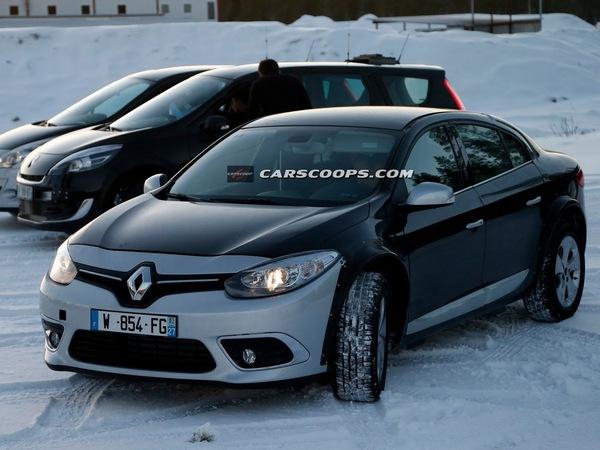 Renault: que cache ce mulet aux contours de Fluence?