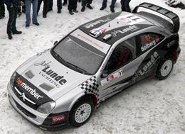 WRC Norvège : La Xsara PSWRT de Solberg
