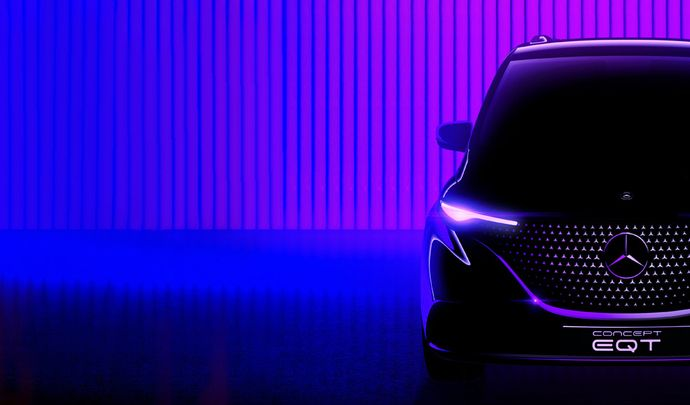 Mercedes officialise l'EQT