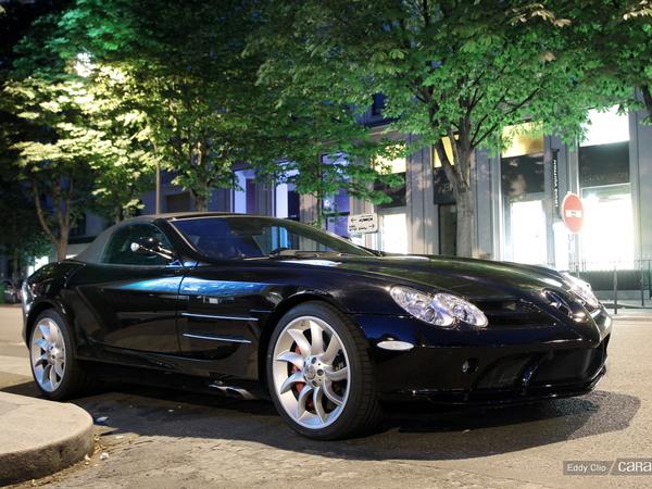 Photos du jour : Mercedes SLR Roadster