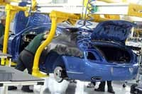 Bentley a produit 31% de voitures en plus en 2005