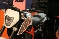 En direct du salon de Milan 2011 : KTM Duke 690