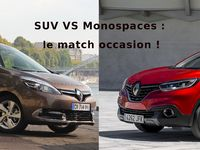 Achat en occasion - SUV ou monospace : le grand match