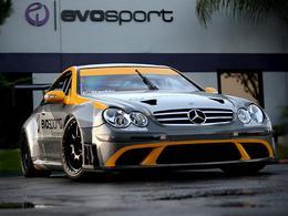 La Mercedes CLK 63 AMG Black Series en compétition