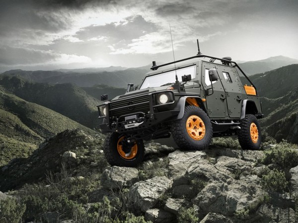 Mercedes-Benz G-Wagon LAPV 6.X: engins à gogo