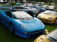 Embouteillage au Christies Retromobile Auction