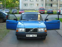 Insolite : l'hypothétique Volvo 243, le mystère de la 3eme porte