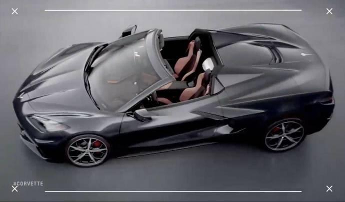 Présentation imminente pour la Corvette C8 cabriolet