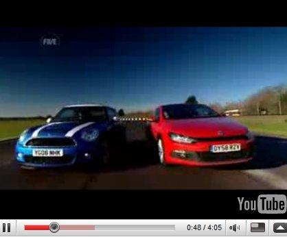 Vidéo Fifth Gear : vous êtes VW Scirocco ou Mini Cooper S ?