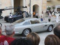 Une Aston Martin DB5 surprise en tournage pour le prochain James Bond