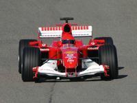 Ferrari teste ses deux 248 F1 à Fiorano