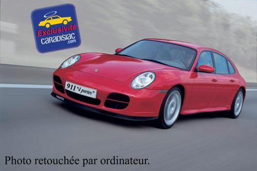 Porsche prépare une 911 à quatre portes !
