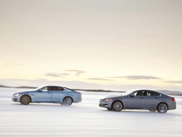 Jaguar annonce des XF et XJ à transmission intégrale