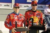 Nascar-Daytona 500: Truex Jr en pole, Montoya en embuscade !