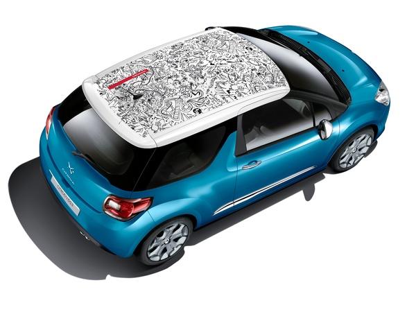 Citroën DS3 - Faut-il faire tatouer sa casquette pour l'été?