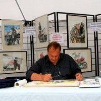 Interview : Patrice Lemiègre : artiste peintre aquarelliste.