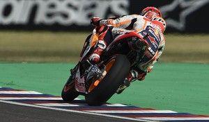 MotoGP - Argentine J.1: Márquez devant s'étonne d'un Dovizioso derrière