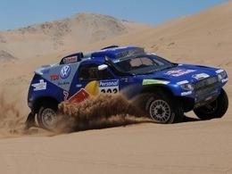 Un nouveau Touareg pour VW au Dakar