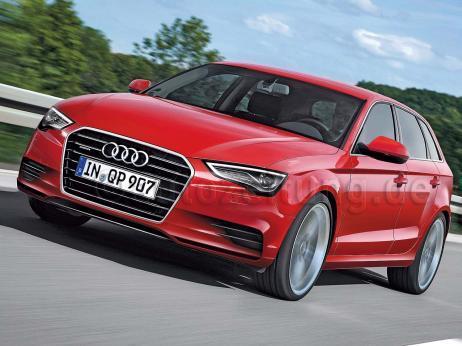 L'Audi A3 Sportback dévoilée au Mondial