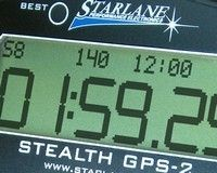 Starlane Stealth GPS 2: le chrono au 1/100° de seconde!
