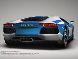 Lamborghini Aventador Polizia : en rêve