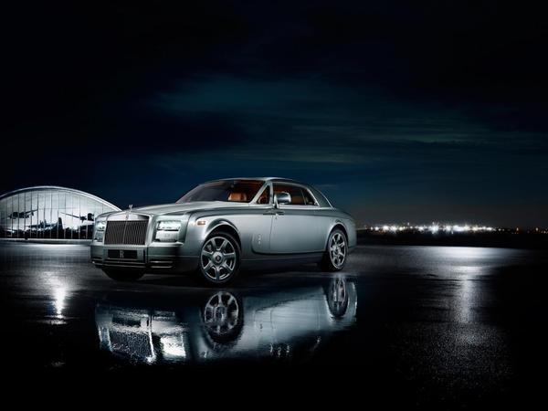Rolls-Royce : une Phantom Coupé série spéciale Aviator à Pebble Beach